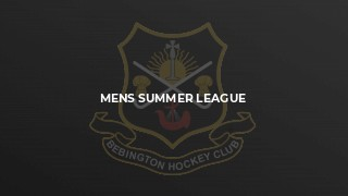 Mens Summer League