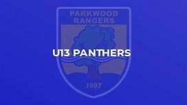 U13 Panthers