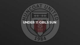 Under 11 Girls Sun