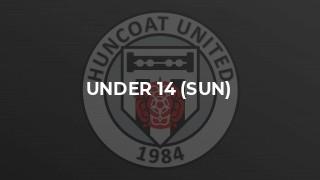Under 14 (Sun) v Whalley Juniors