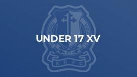 Under 17 XV