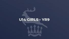 U14 Girls - Yr9