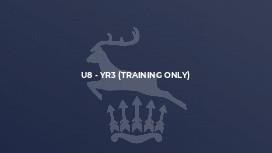 U8 - Yr3 (Training only)