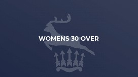 Womens 30 Over