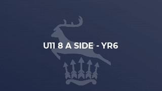 U11 8 a side - Yr6