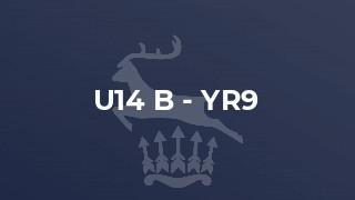 U14 B - Yr9