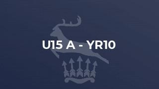U15 A - Yr10