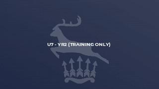 U7 - Yr2 (Training only)