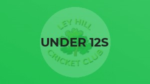 UNDER 12S GO TO TOP OF TABLE