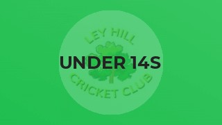 UNDER 14s LOSE MATCH BUT END UP TOP OF TABLE