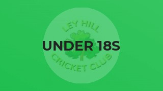 UNDER 18s IMPROVE WITH EVERY MATCH