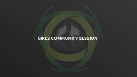 Girls Community Session