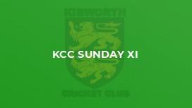 KCC Sunday XI