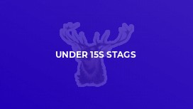 Under 15s Stags