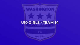 U10 Girls - Team 14