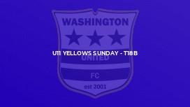 U11 Yellows Sunday - T18b