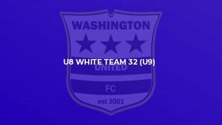 U8 White Team 32 (U9)