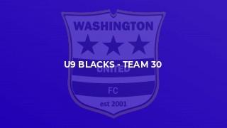 U9 Blacks - Team 30