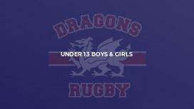 Under 13 Boys & Girls
