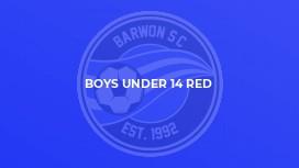 Boys Under 14 Red