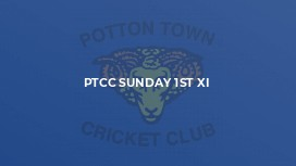 PTCC Sunday 1st XI