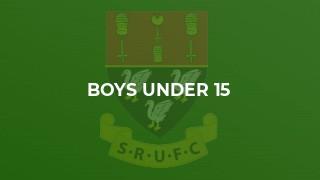 Boys Under 15