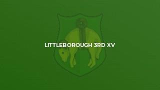 Littleborough 3rd XV