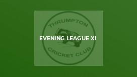 Evening League XI