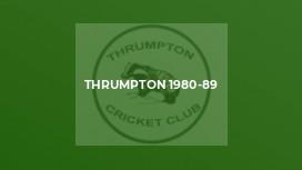 Thrumpton 1980-89