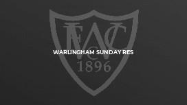 Warlingham Sunday Res