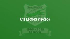 U11 Lions (19/20)