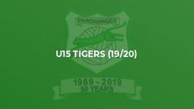 U15 Tigers (19/20)