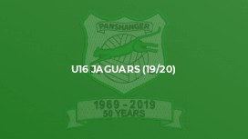U16 Jaguars (19/20)