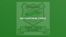 U15 Panthers (19/20)