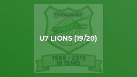 U7 Lions (19/20)