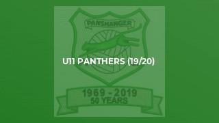 U11 Panthers (19/20)