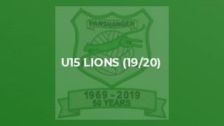 U15 Lions (19/20)