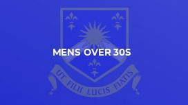 Mens Over 30s