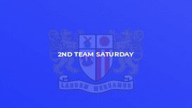 2nd Team Saturday