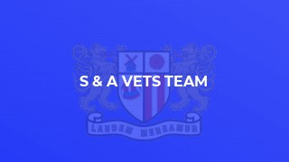 S & A Vets team