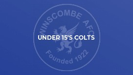 Under 15's Colts