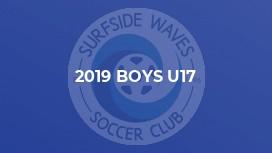 2019 Boys U17