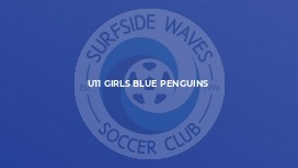 U11 Girls Blue Penguins