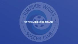 U7 Wallabies Red Pirates