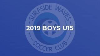 2019 Boys U15