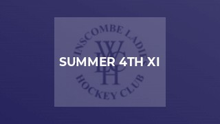 Summer 4th XI