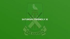 Saturday Friendly XI