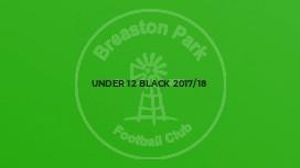 Under 12 Black 2017/18