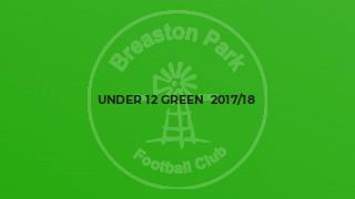 Under 12 Green  2017/18