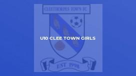 U10 Clee Town Girls